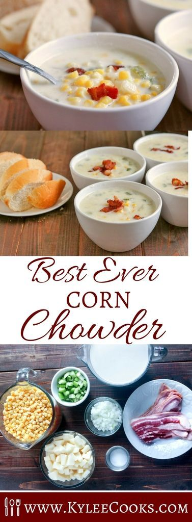 A thick, rich, chunky soup, with a pronounced corn flavor, and all round deliciousness. Perfect for Fall, this Best Ever Corn Chowder will be loved by the whole family!