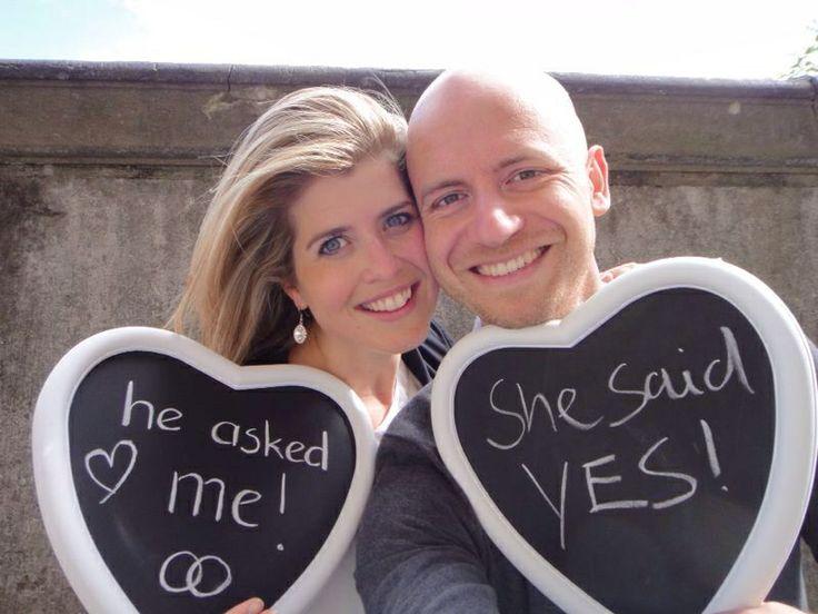 Wij gaan trouwen! Wedding announcement!