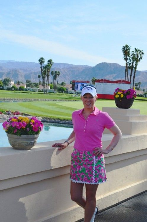 I love that Morgan Pressel's newest sponsor is Lilly Pulitzer!