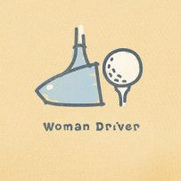Woman Driver #Lifeisgood #Optimism #Golf