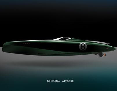 """""""OFFICINA ARMARE HERON - MODERN RETRO YACHT CONCEPT BOAT"""" http://be.net/gallery/51815545/OFFICINA-ARMARE-HERON-MODERN-RETRO-YACHT-CONCEPT-BOAT"""