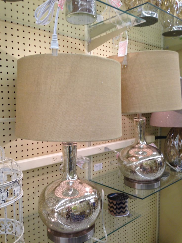 Lamps From Hobby Lobby