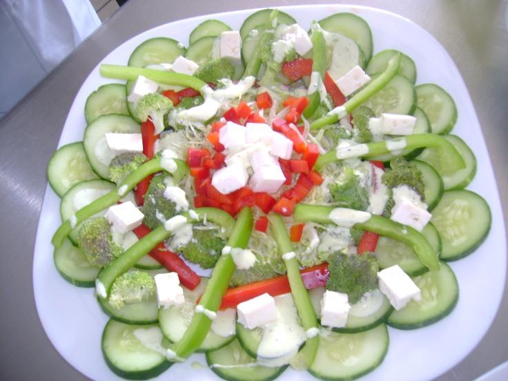 Decoracion final de la ensalada tecnicas de preparacion - Decoracion de ensaladas ...