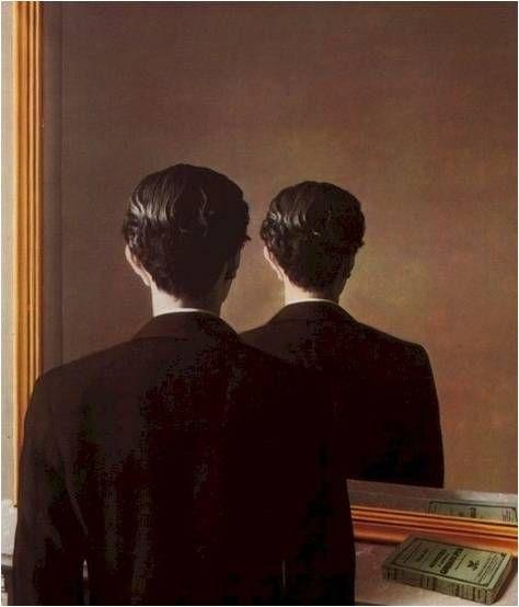 재현의 불가능  René Magritte 내가 썼던 시나리오 엔딩의 모티브가 된 이미지.