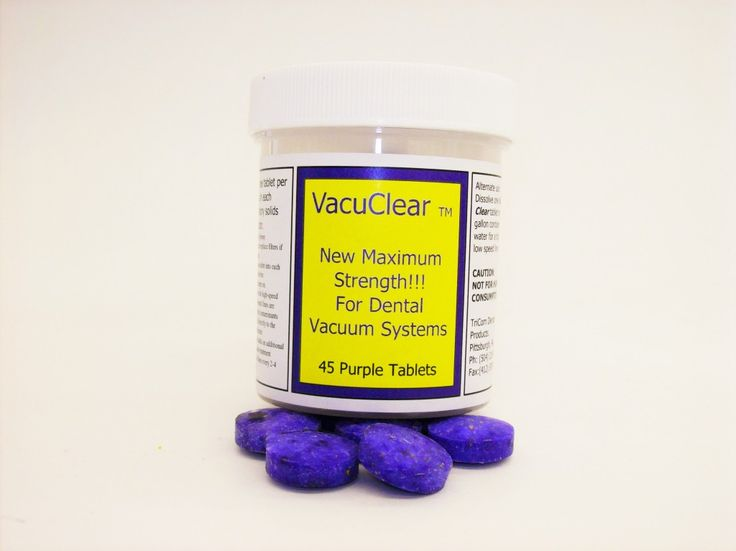 Dental Evacuation System Cleaner Tablets (VacuShock™w/ AT-4, VacuClear™ and VacuShock™ Kit) - Houston - TX - USA - Dental Clinic Supplies - Show Ad DDDENT.com International Social Dental Network