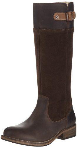 Zapatos de mujer. Levi's 220784-760 - Botas de piel de cerdo mujer, color marrón