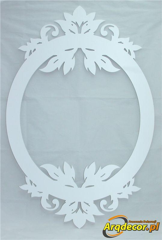 Pracownia Dekoracji ARQ - DECOR - Rama Ażurowa nr 02 (NA ZAMÓWIENIE) dekoracje ślubne, weselne