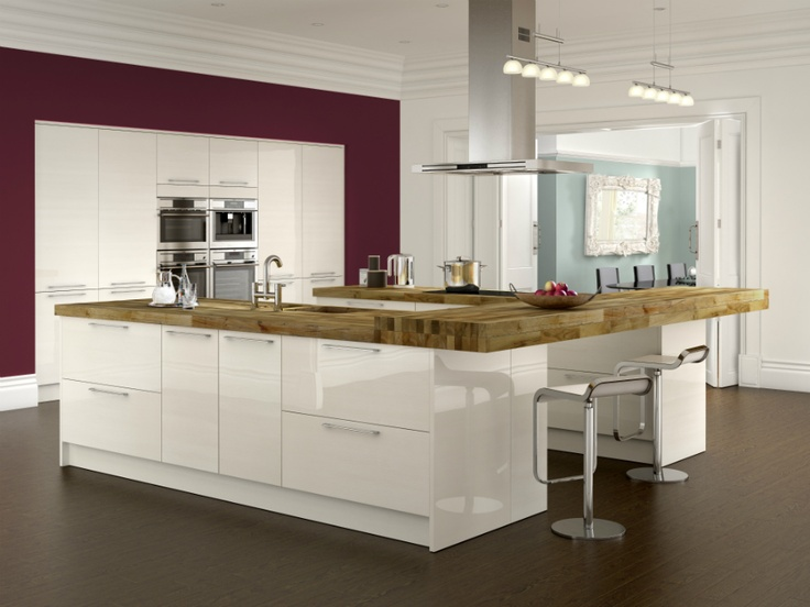 Monaco - Foil Kitchens - Benchmarx Kitchens and Joinery