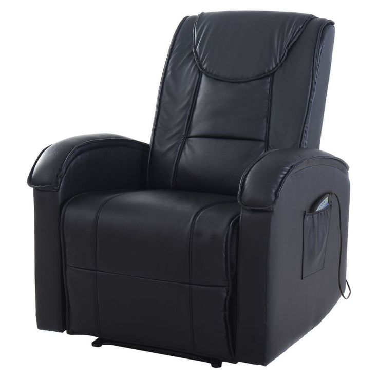 Ergonomic Massage Sofa Chair Electric Vibrating Recliner Lounge w/Control
