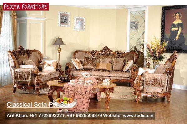 Sample Sofa Set, Classic Sofa Set, Traditional Sofa   Fedisa ...