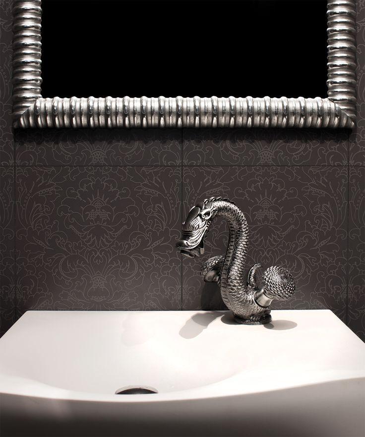 Luxury bathroom design - bronces mestre faucet - made in spain