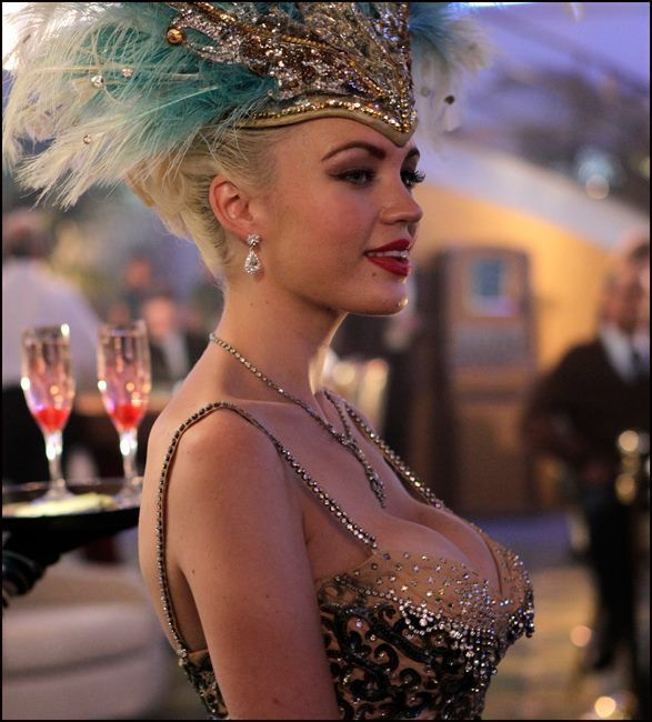 Vegas Jente Viser Nøgen