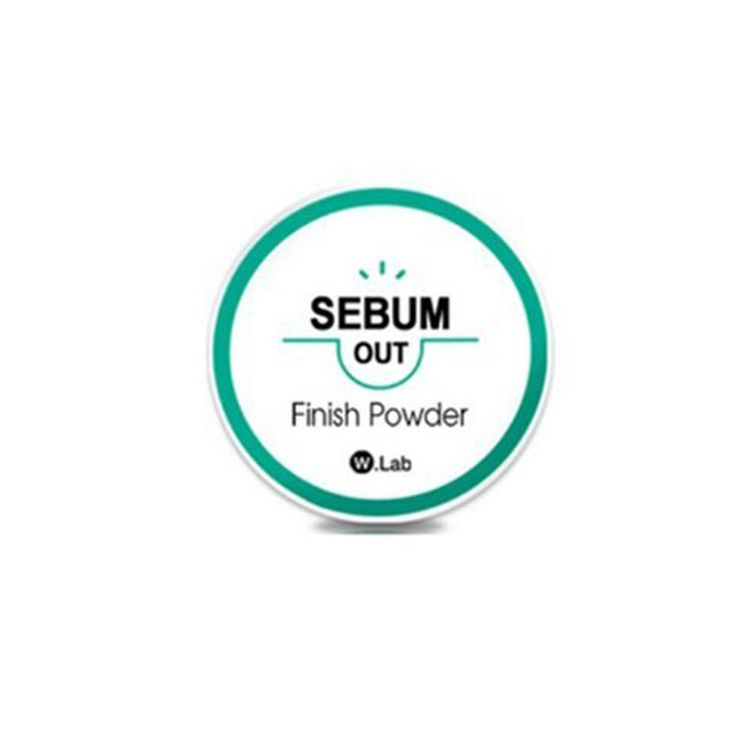 W.Lab Sebum Out Finish Powder for Skin Pore Cover + Free gift Korean Beauty #WLab