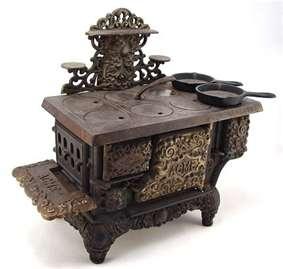 Acme Salesman Sample Stove: Acme Miniatures, Irons Cooking, Irons Toys, Sample Stove, Cast Irons, Salesman Sample, Wrought Irons, Samples Stove, Cooking Stove