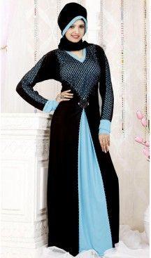 Black Lycra Islamic Hijab Abaya Styles Muslim Women Dresses | FH408465943 #trendy, #highquality, #islamic, #clothing, #women, #hijab, #fashion, #dresses, #jilbabs, #hijabs, #shawls, #islamic, #muslim, #burqa, #niqab, #wedding, #store, #boutique, #dubai, #pakistani, #mordern, #heenastyle, #readymade, #black, #color, @heenastyle