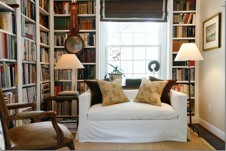 17 best ideas about small library rooms on pinterest for Small reading room ideas