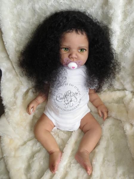 biracial reborn baby girl  sale happy bu regina