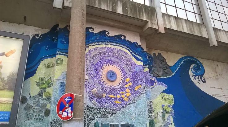 """Bilder von einer Stadtteil-Führung """"Kunst - Kultur - Graffiti"""""""