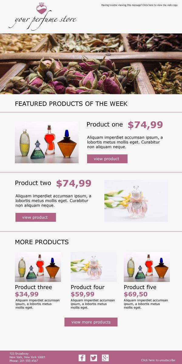 Best Email Templates For Beauty Cosmetic Suppliers Images On