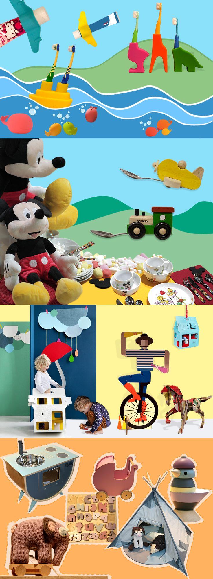 It's a Kids' World – designs to stir the imagination.