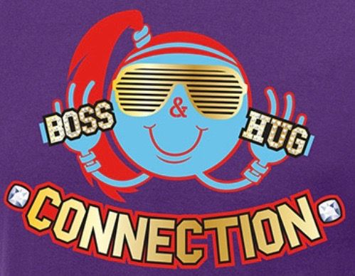 The Boss Hug Connection (Sasha Banks & Bayley) logo - WWE ...