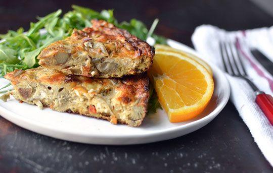 make ahead recipe sausage artichoke amp goat cheese egg bake recipes ...