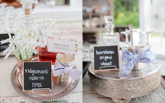 Southern in Love: Our Wedding: The Reception Part I | Bourbon bar