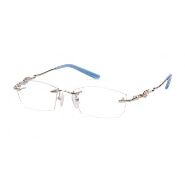 Rimless Glasses With Rhinestones : 17 Best images about Rimless with Rhinestones on Pinterest ...
