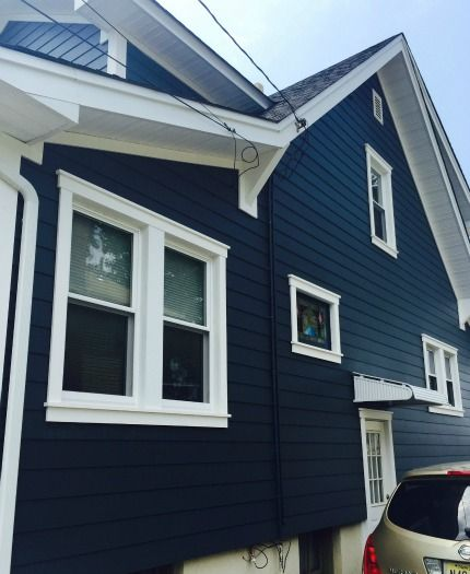 Exterior House Colors Dark Trim