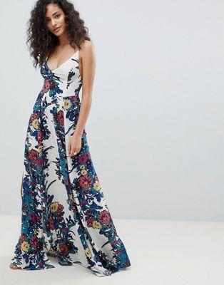 c2803adba6d Free People through the vine printed maxi dress