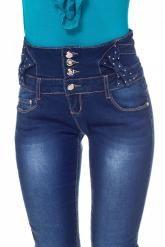 Korkeavyötäröiset siniset farkut, koko 40 tai 42. 39,90 €. Jotkut tämän malliset siniset tai mustat farkut.