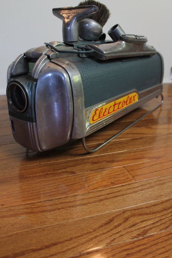 electrolux attachments. vintage 1950s electrolux vacuum lx with attachments // by mybarn n