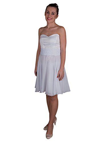 abbcc4583ec Robe de soirée Blanche pour Femme - Blanc - 44