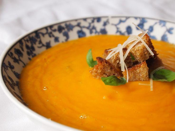 Crema de zapallo--Peruvian squash soup | Peru Delights: The Ins & Outs of Peruvian Cooking