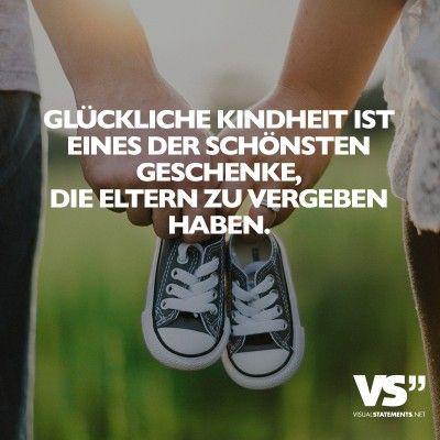 Glückliche Kindheit ist eines der schönsten Geschenke, die Eltern zu vergeben haben.