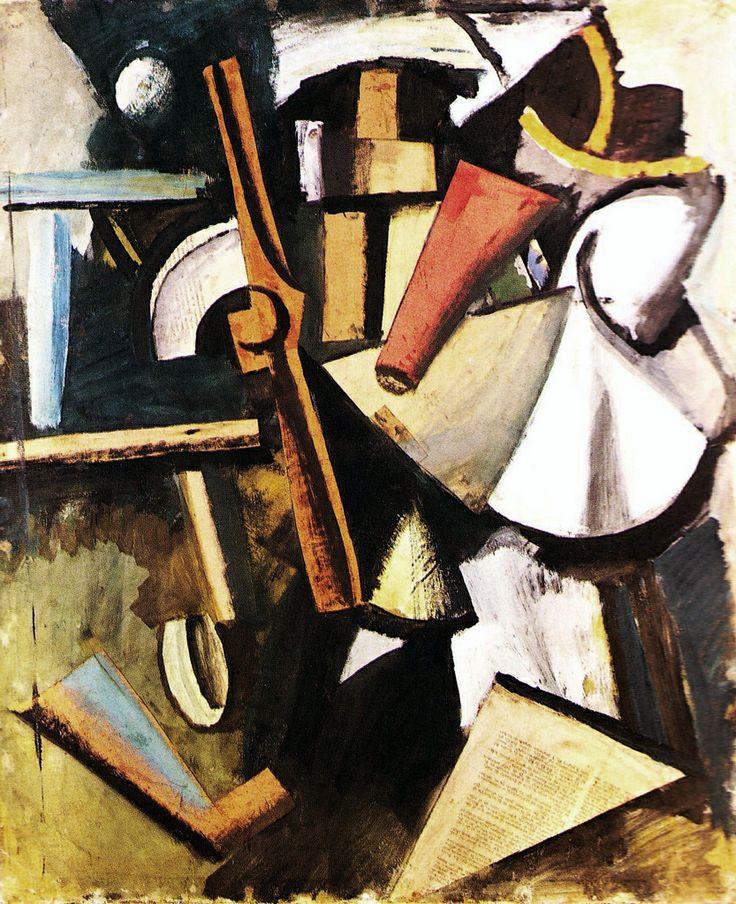 'Composizione con elica' (1915) by Mario Sironi