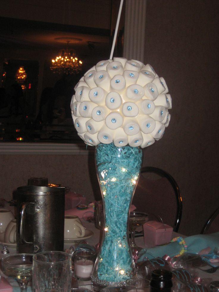 Marshmallow Centerpiece