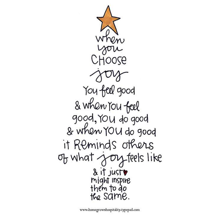 ....and Spiritually Speaking: Choose Joy