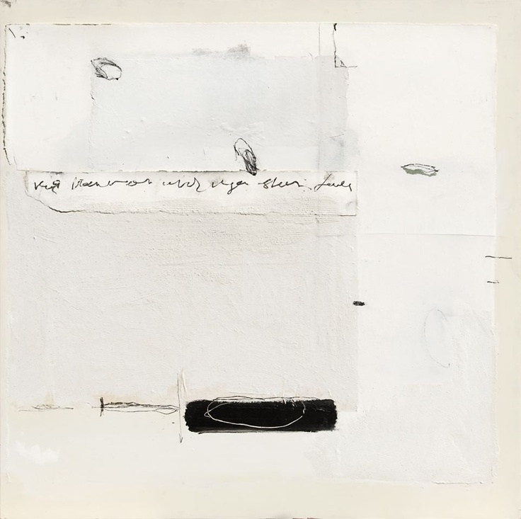 René van der Hoofd - Zonder titel - Acryl en mixed media op canvas