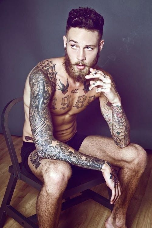 This many is too many.  Feature Interview with model Billy Huxley up on reneeruin.com now!