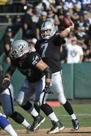 Matt Leinart Oakland Raiders Los Angeles Raiders Silver and Black Heisman Trophy Winner