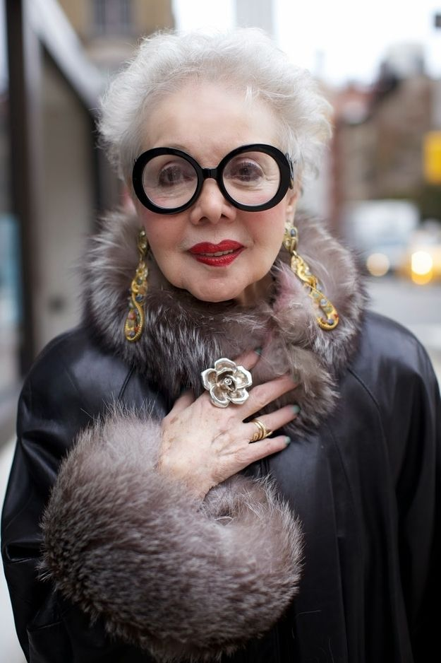Summers with Wintour | Community Post: 13 Old Ladies That Are More Stylish Than You