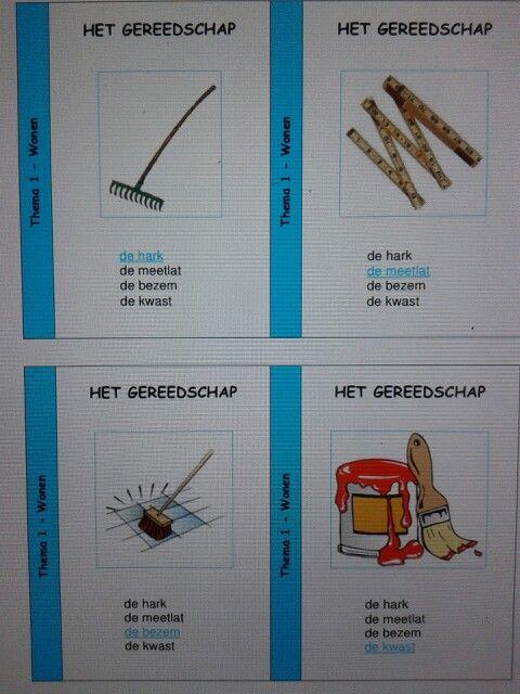 Kwartet Taal Actief groep 4. Met woorden uit het woordenschatprogramma van thema 1 Wonen. Te downloaden van digischool.