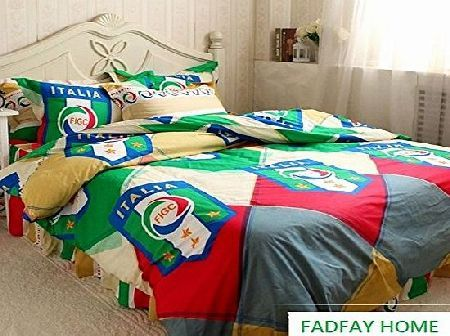 FADFAY Home Textile,Cool Boys Soccer Bedding Sets,Cotton Bed Sheets Set,Designer Bedding Sets,Bright Color  No description (Barcode EAN = 0519273258501). http://www.comparestoreprices.co.uk/bunk-beds/fadfay-home-textile-cool-boys-soccer-bedding-sets-cotton-bed-sheets-set-designer-bedding-sets-bright-color-.asp