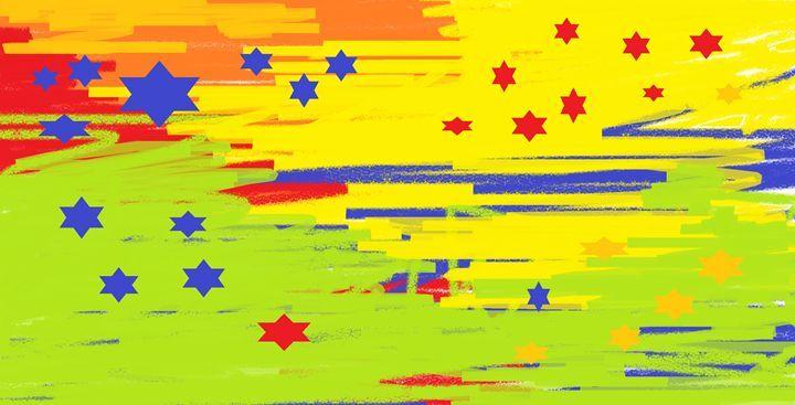 Vivid sky - AbstractGlimpse
