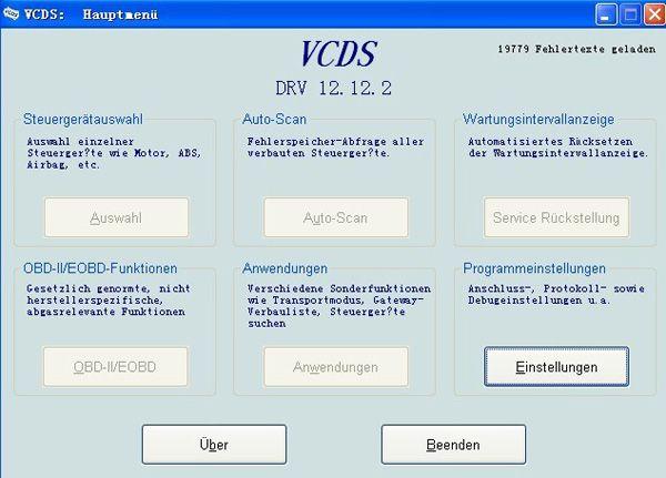 vag com vcds full version support german with 19779 error codes professional. Black Bedroom Furniture Sets. Home Design Ideas