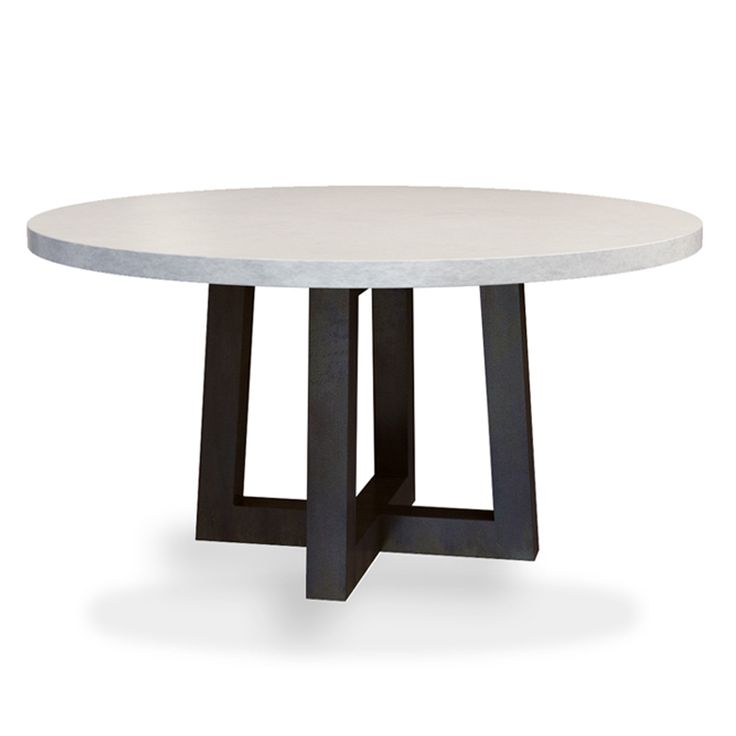 Trueform Torre Round Concrete Dining Table Is A Nice Addition To Any Dining  Or Family Room. Perfect As A Conference Table. Wharton, New Jersey.