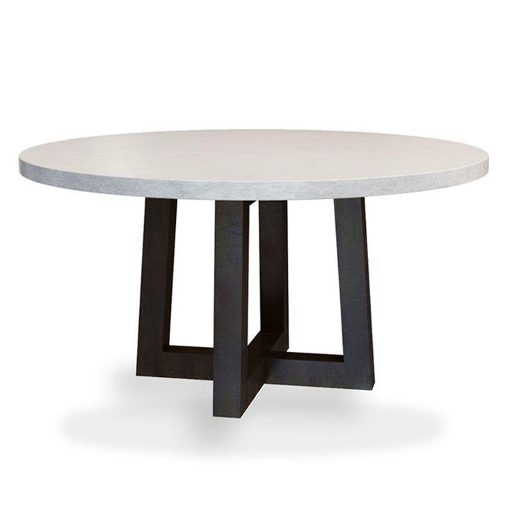 25 best ideas about Concrete Dining Table on PinterestConcrete