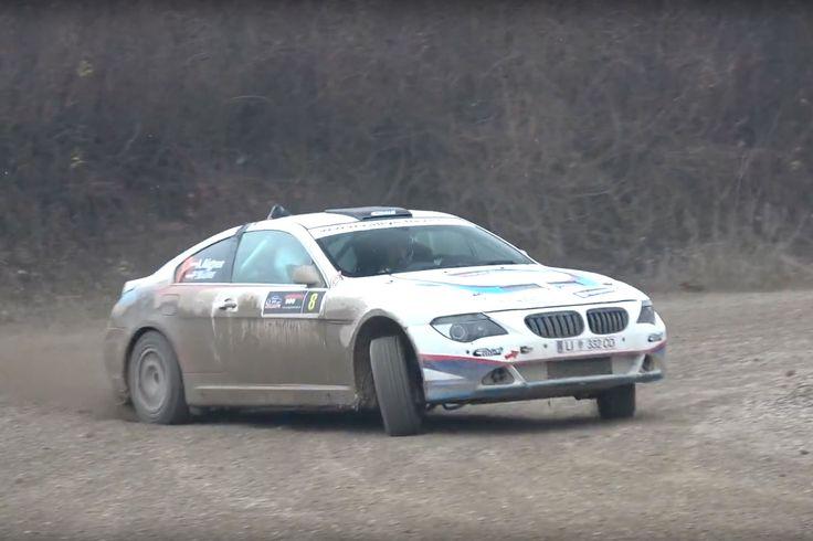 Ein BMW 650i ist ungeeignet zum Rallyefahren? Andreas Aigner beweist das Gegenteil.