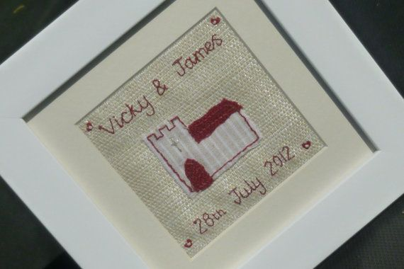 Personalised Wedding Gift for the Bride and Groom by BumbleBeanUK, £25.00